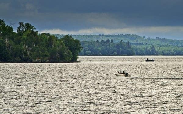 A storm over Lake Vermilion