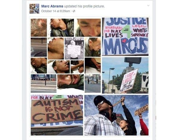Marcus Abrams' Facebook profile photo