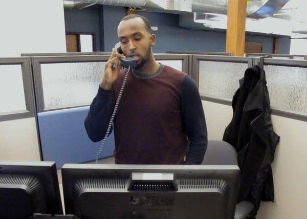 MNsure call center worker Yusuf Abdi