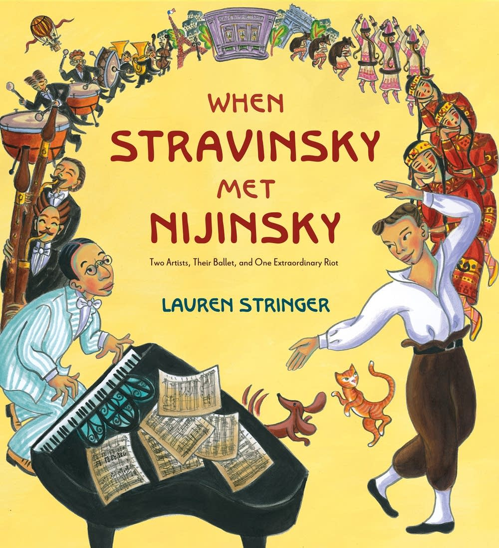 When Stravinsky Met Nijinsky book cover Lauren Str