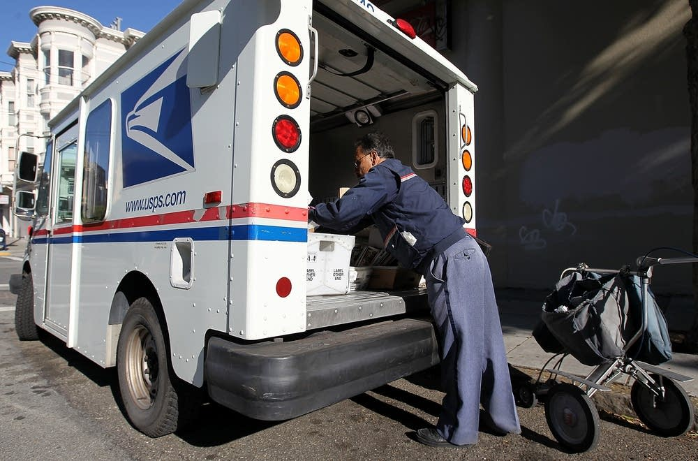 US Postal Service carrier