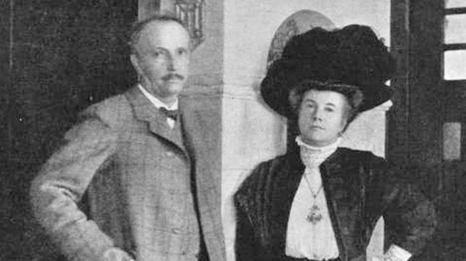 Richard and Pauline Strauss