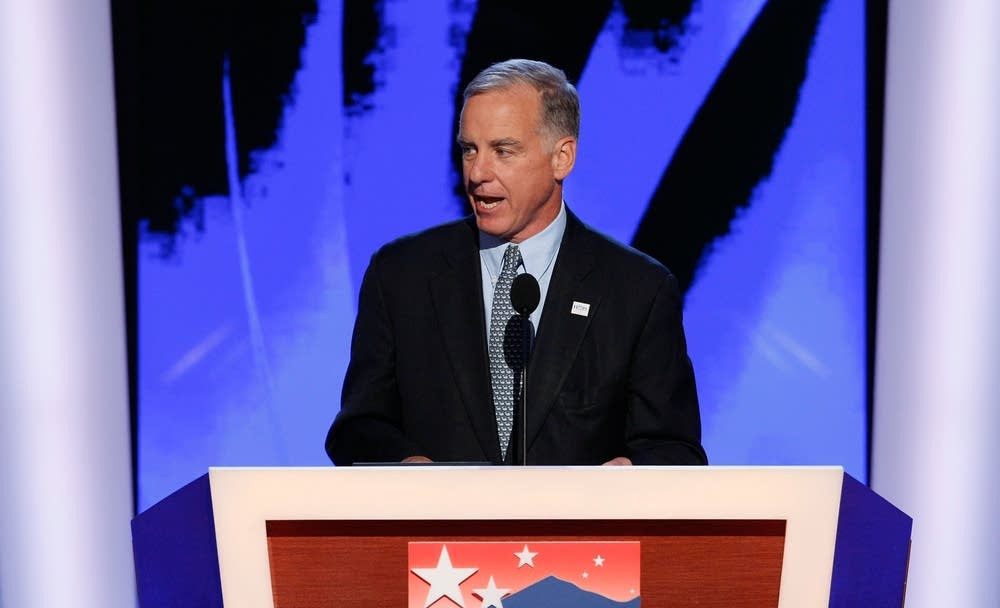 Howard Dean speaks on Day 3 of the DNC