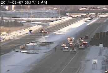 Police chase on Highway 212