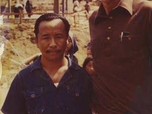 Gov. Al Quie with Lt. Col. Vang Neng at Ban Vinai