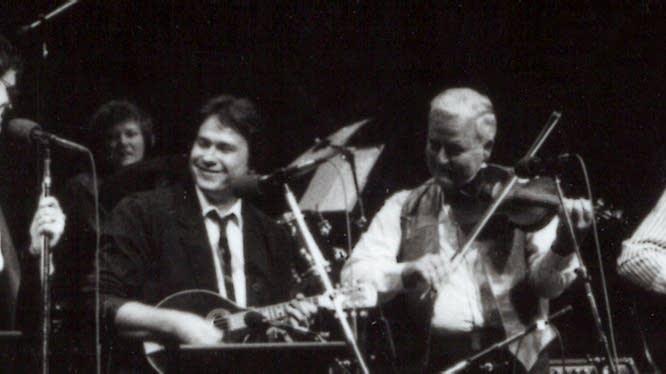 Garrison Keillor, Peter Ostroushko, Johnny Gimble, and Chet Atkins
