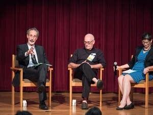 Peter Gleick, Patrick Regan and Kate Brauman