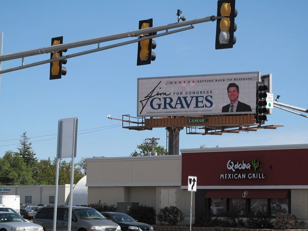Graves billboard