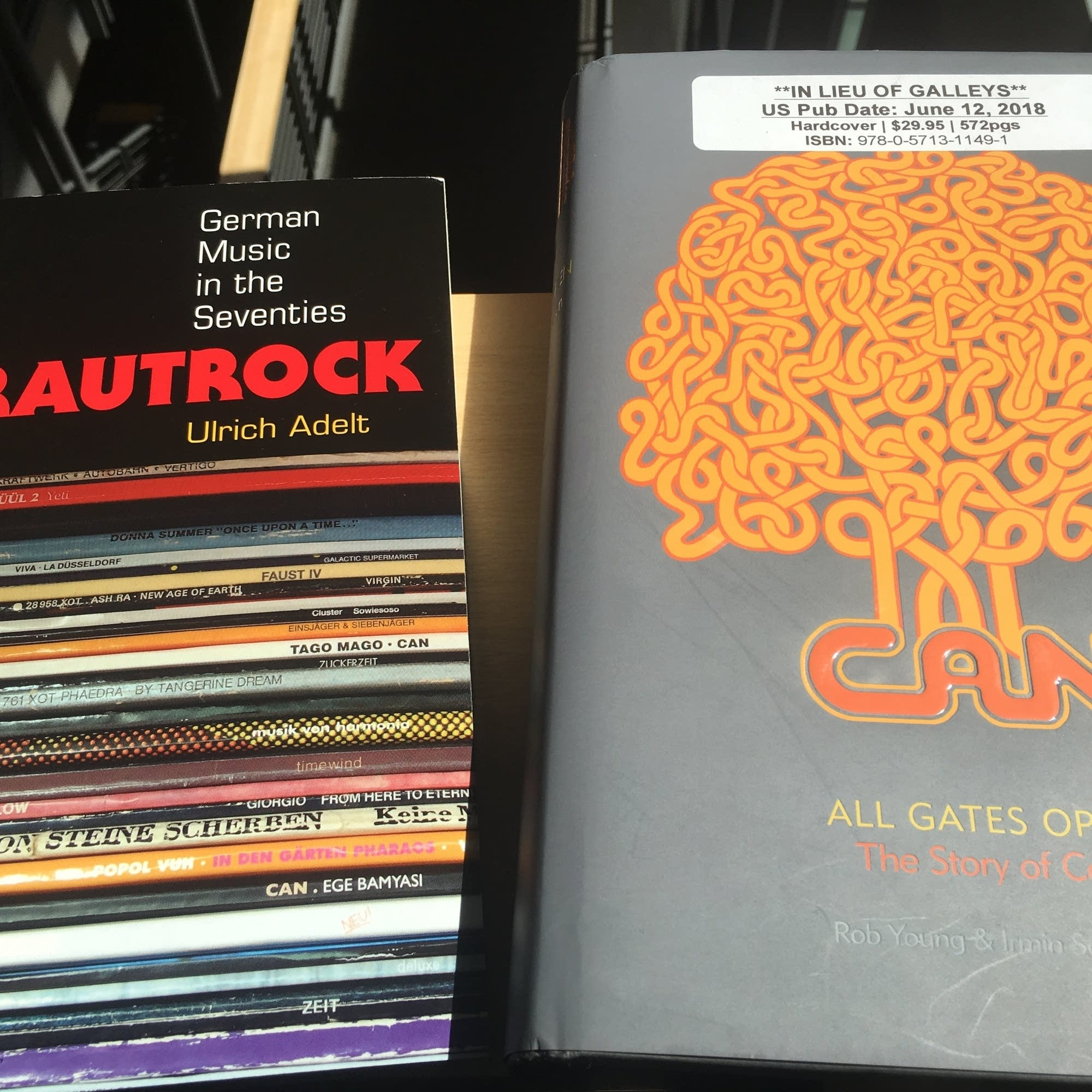 Two recent books on krautrock.