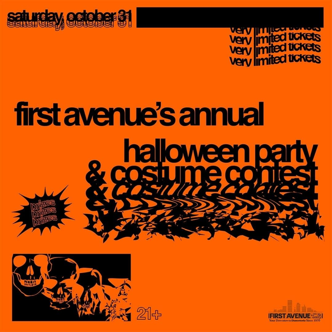 First Avenue Halloween party and costume contest