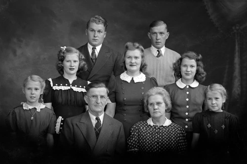 Family of Audrey Ryti Tack, November, 1941