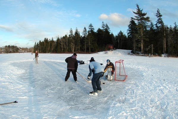 Hockey at Long Pond