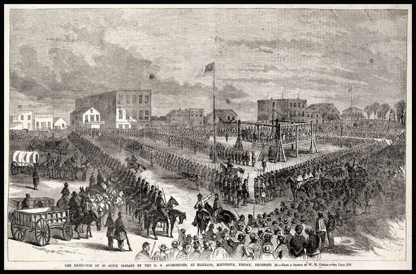 Execution of 38 Dakota Indians