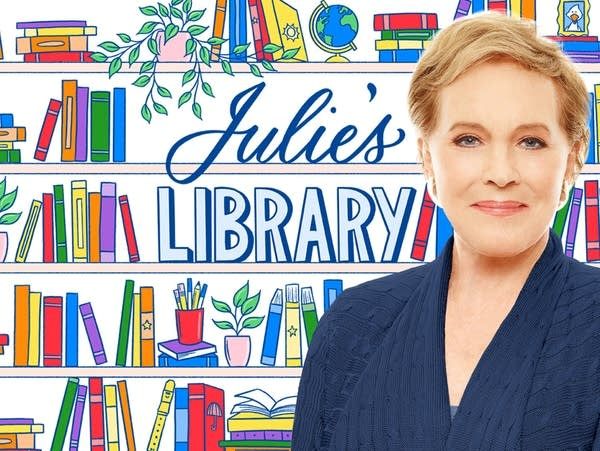 Julie Andrews, host of Julie's Library