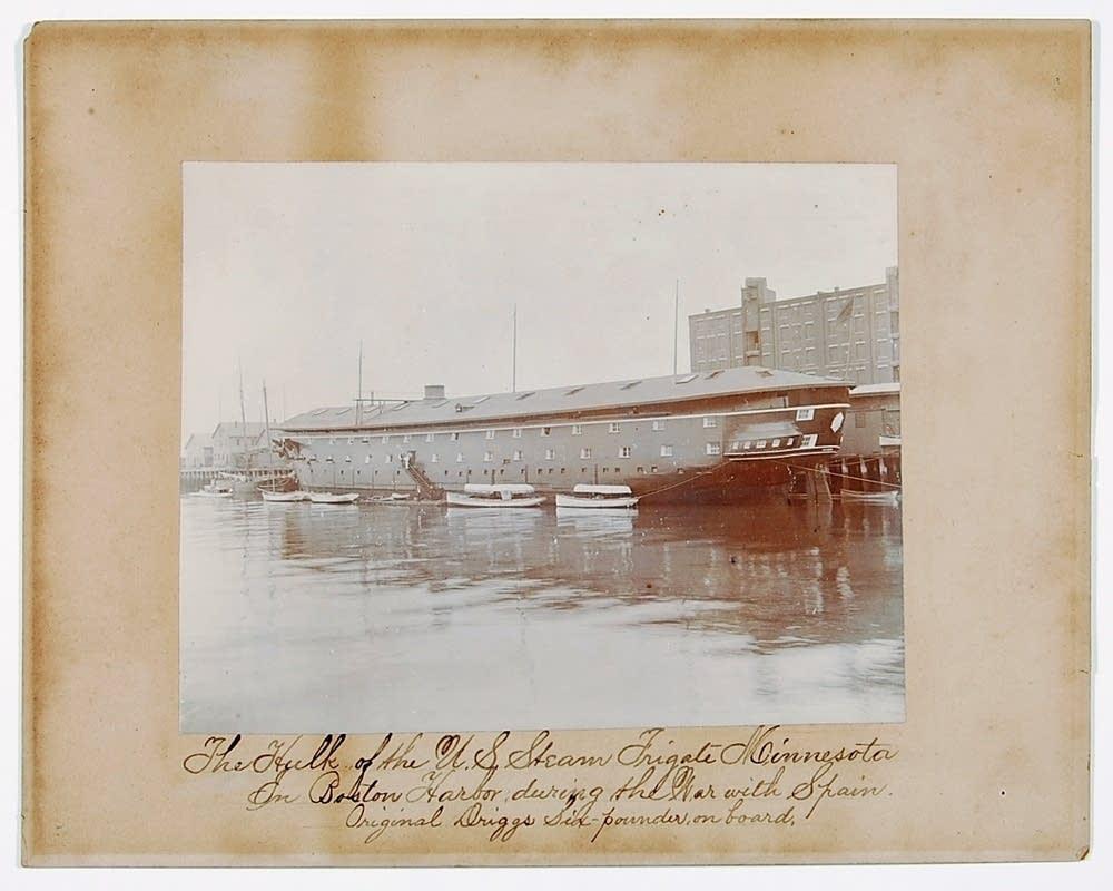 The original USS Minnesota