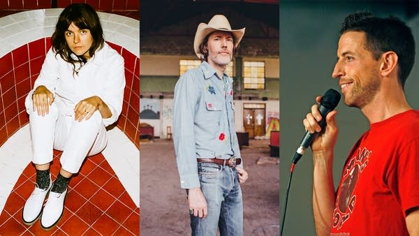 Courtney Barnett, David Rawlings, Neal Brennan
