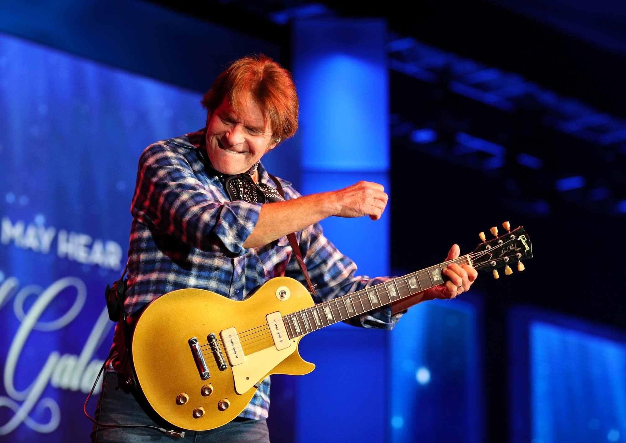 John Fogerty performing in St. Paul in 2017