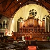 1955–95 Casavant at Trinity-St. Stephen's United Church, Amherst, NS