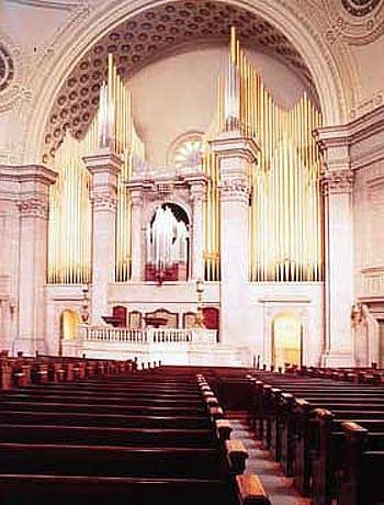1949 Aeolian-Skinner organ at Boston's First Church of Christ,...