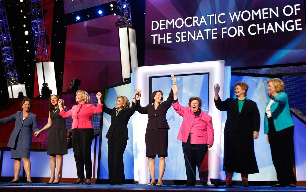 Democratic women of the Senate for change