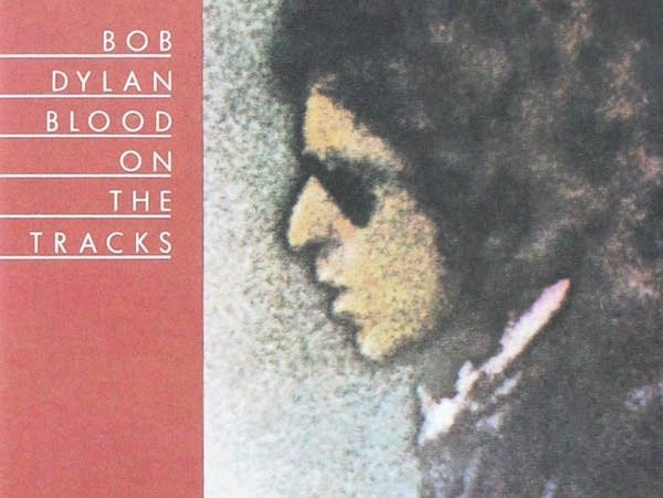 Album cover: Bob Dylan, 'Blood on the Tracks.'