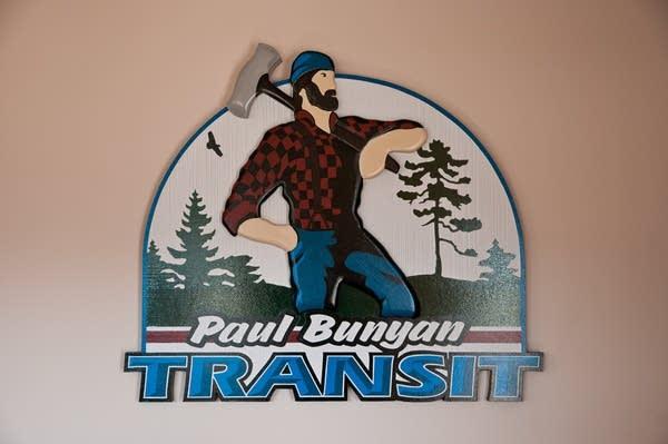 Paul Bunyan logo