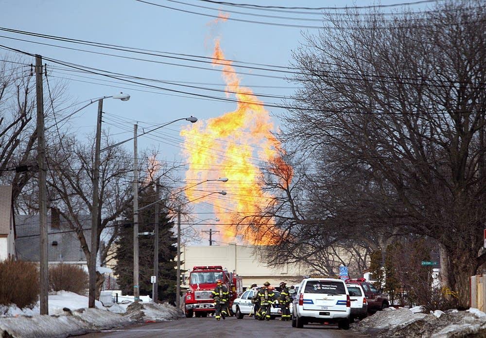Fire in Minneapolis