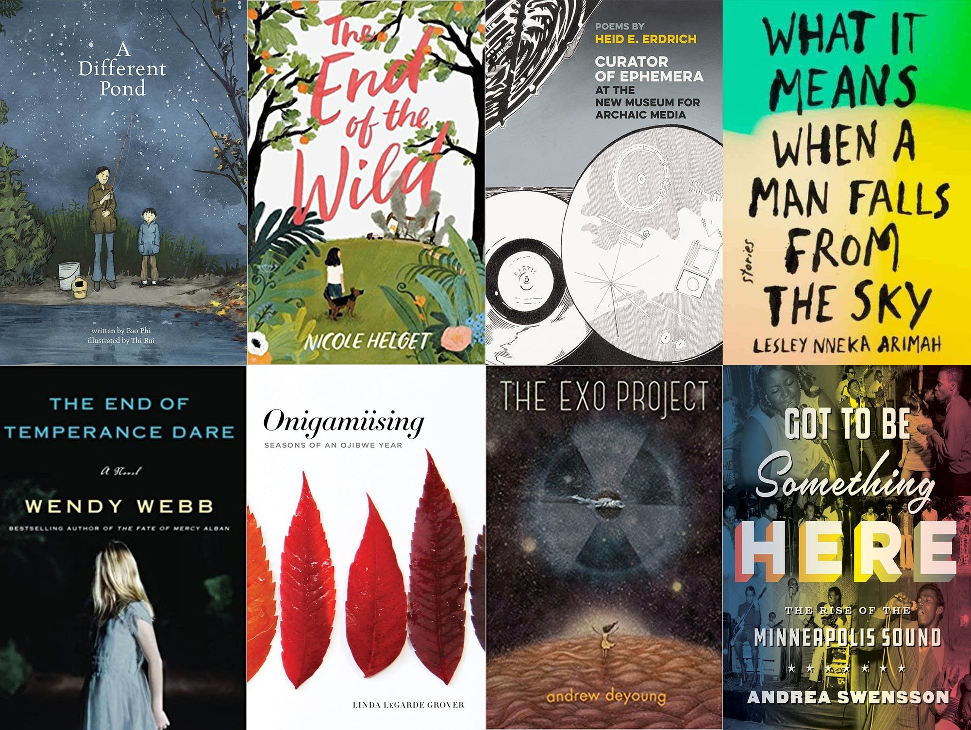 2018 Minnesota Book Award honorees