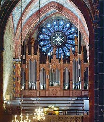 1939 Sauer organ at Saint Peter's Cathedral, Bremen, Germany