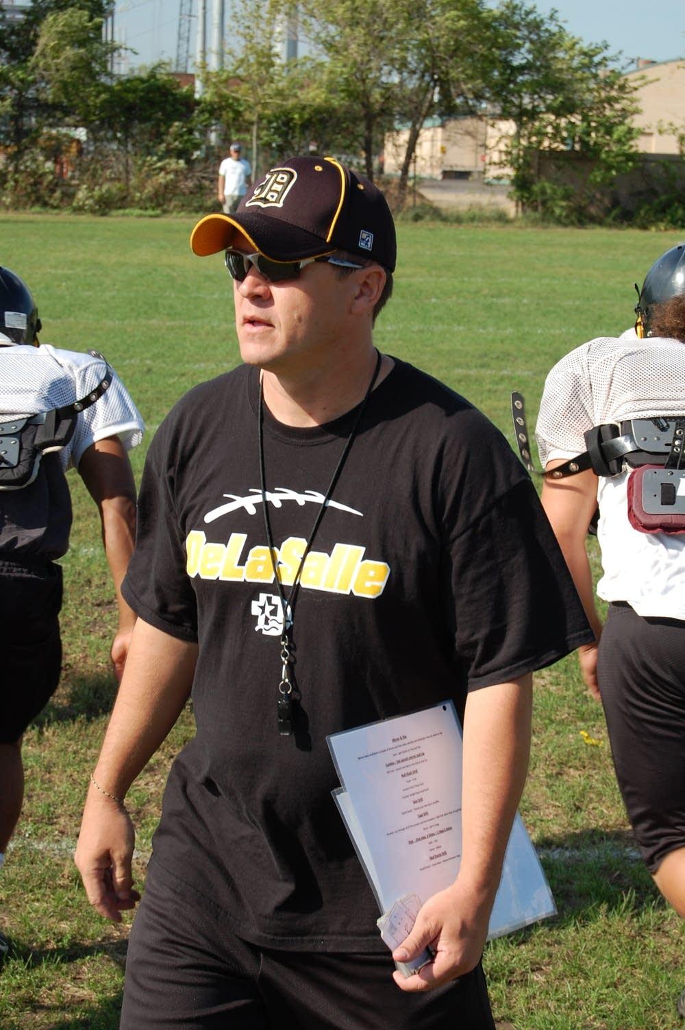 Coach Sean McMenomy