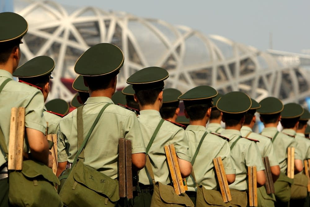 Soldiers at Olympics
