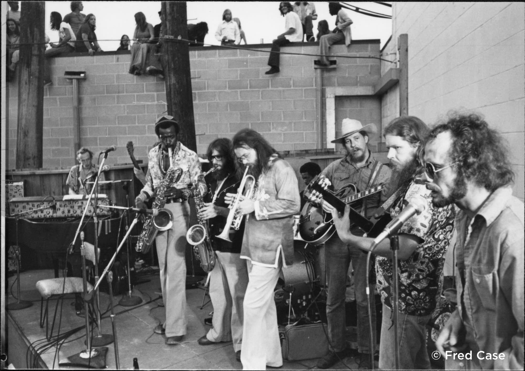 Willie and the Bees at the Cabooze in the 1970s.
