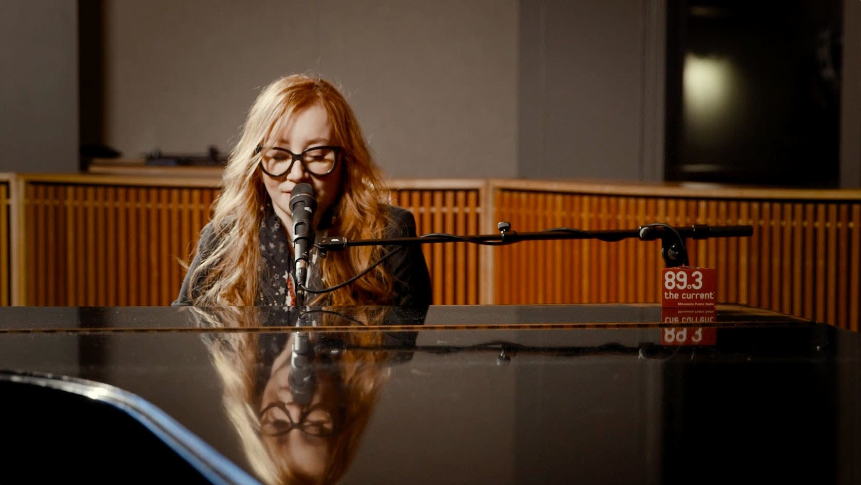 Tori Amos in The Current studio