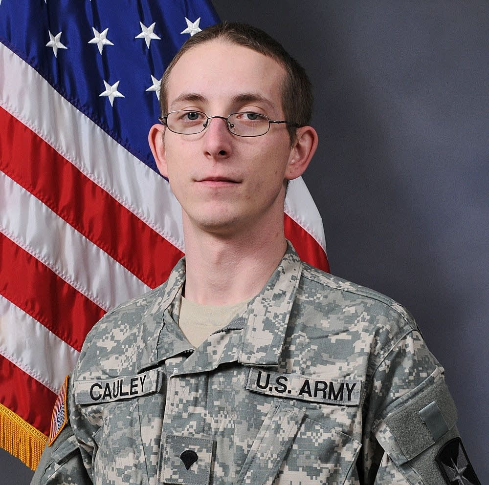 Spc. George Cauley