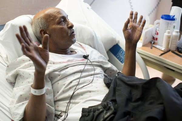 Fire victim Abdi Qobey