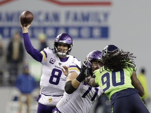 Vikings game in Seattle.