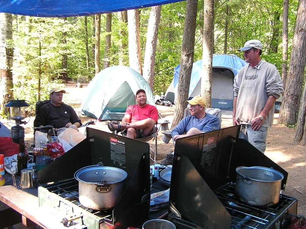 Fireless camping