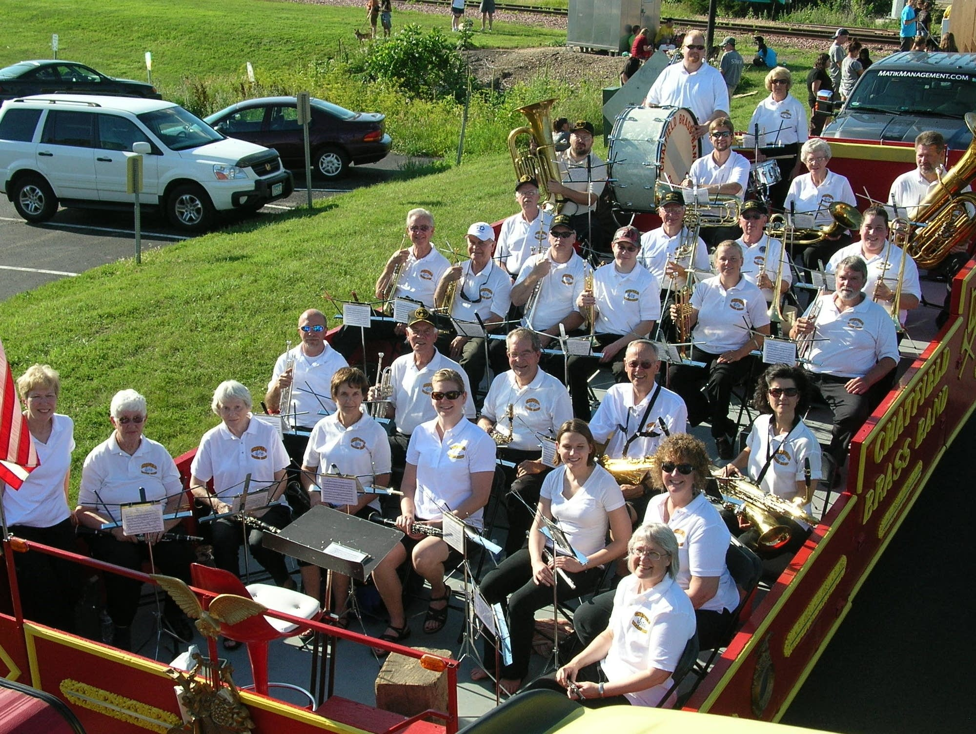 The Chatfield Brass Band is approaching its 50th season.