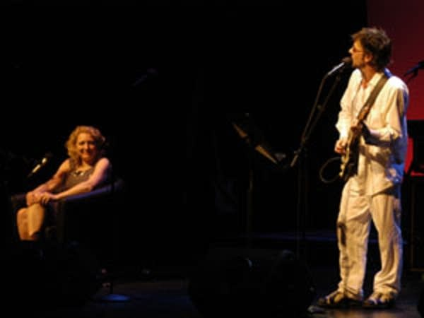 Laurie Lindeen and Paul Westerberg