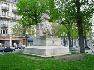 hector berlioz, statue, grenoble