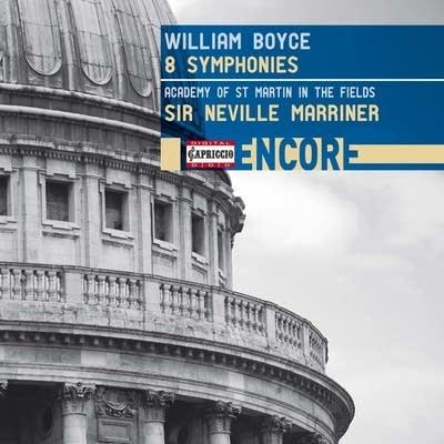 E3060a 20170106 william boyce symphony no 5