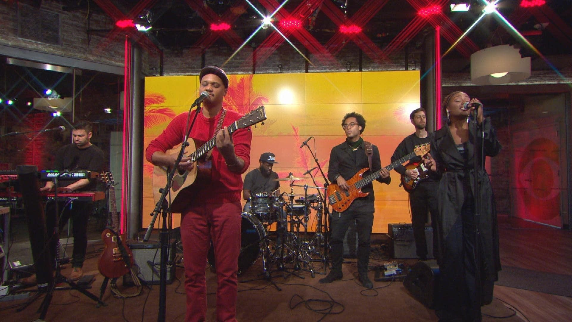 Son Little performs on CBS This Morning: Saturday Sessions