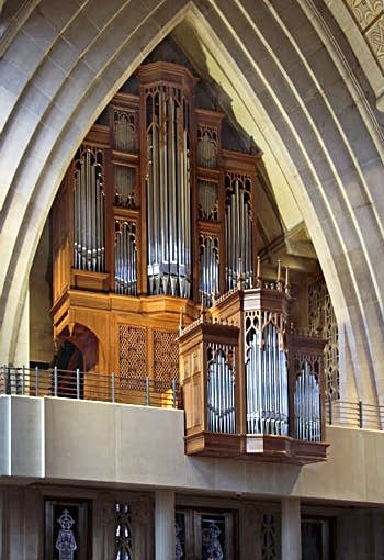 2010 Noack organ, Opus 152, at the Cathedral of St. Joseph the Workman,...