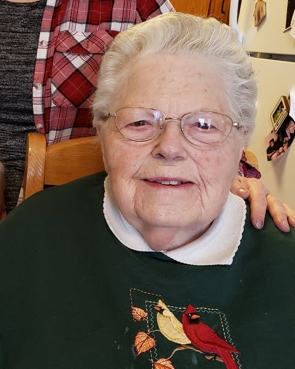 Betty Herzfeld lives in the long-term care facility at Boutwell's Landing.