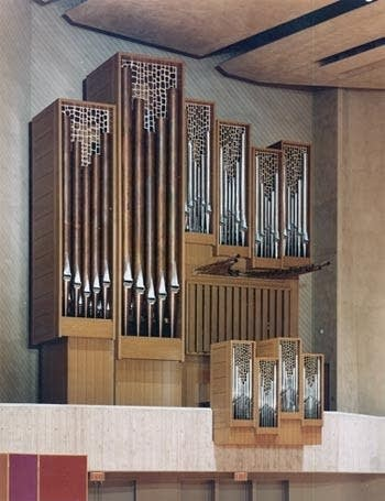 1978 Sipe organ at Luther College, Decorah, IA
