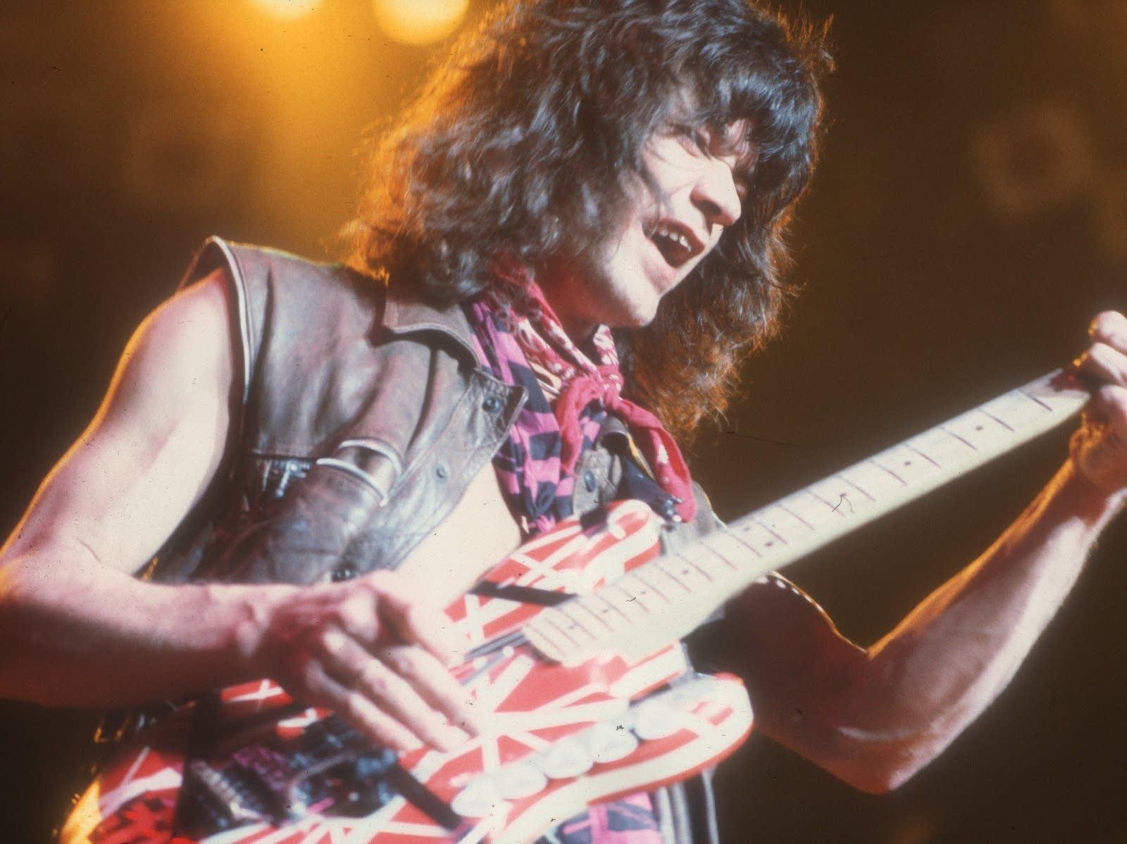 Photo of Eddie Van Halen