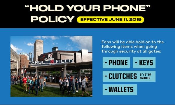 The Minnesota Twins are changing their security policy.