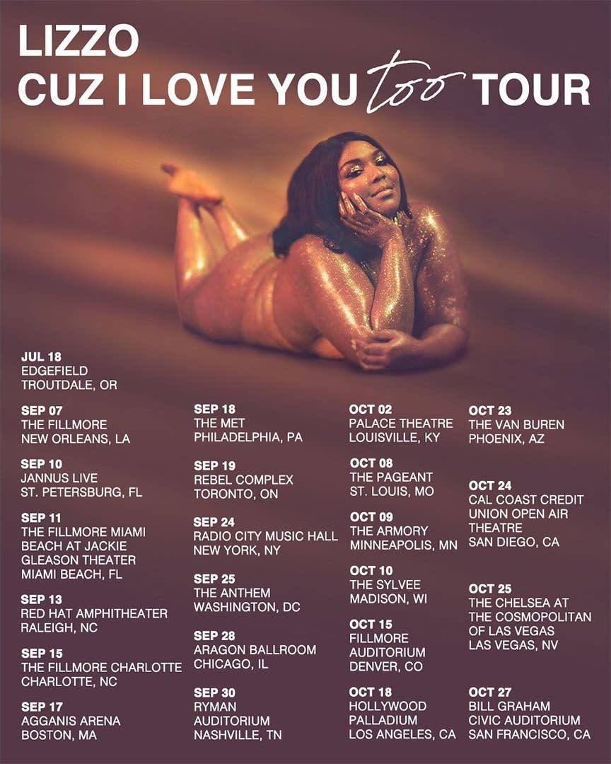 Lizzo Cuz I love you too
