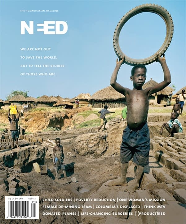 NEED Magazine's second issue cover