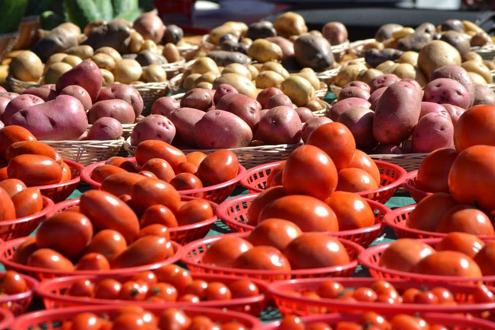 Produce at the Midtown Farnmers Market
